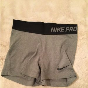 Nike Pro Workout Compression Shorts